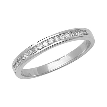 9ct White Gold Diamond Briiliance D/0.15CT