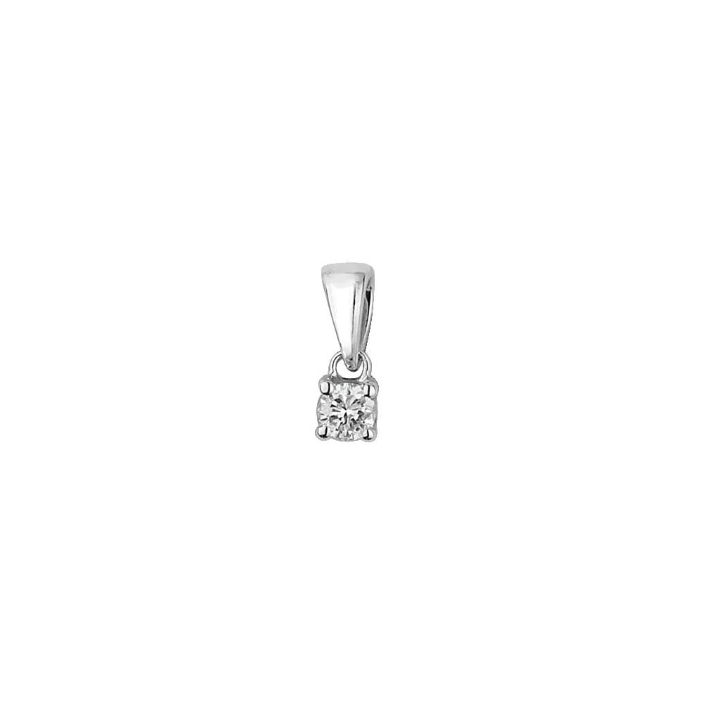 9ct white gold diamond pendant 010ct diamond jewellery from faith 9ct white gold diamond pendant 010ct aloadofball Gallery