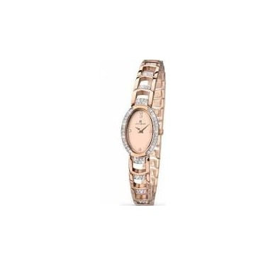 Accurist Ladies London Rose Gold Watch