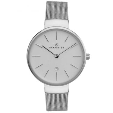 Accurist Ladies Silver Watch