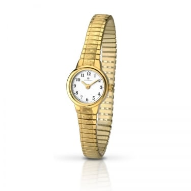 Accurist Ladies Yellow Gold Watch