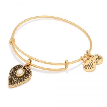 Alex and Ani Guardian Angel Rafaelian Silver