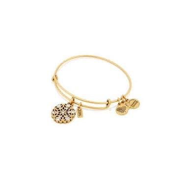 Alex and Ani Snowflake RG Expandable Bangle