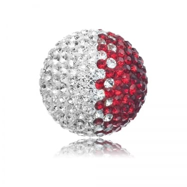 Angel Whisperer Soundball Crystal Red/White 14mm