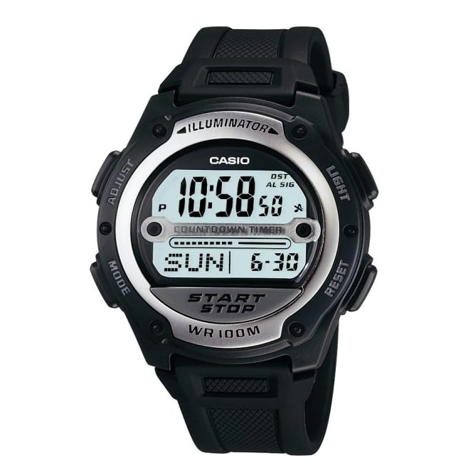 Casio Gents Black Watch