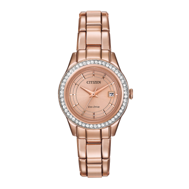 Citizen Ladies Eco Drive Crystal Watch