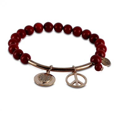 Coco88 Amy Red Sea Bamboo Bracelet