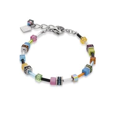 Coeur De Lion GeoCube Multi-colour Bracelet