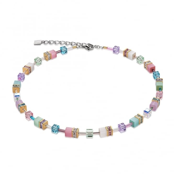 Coeur De Lion Multicolour Pastell Romantic Necklace