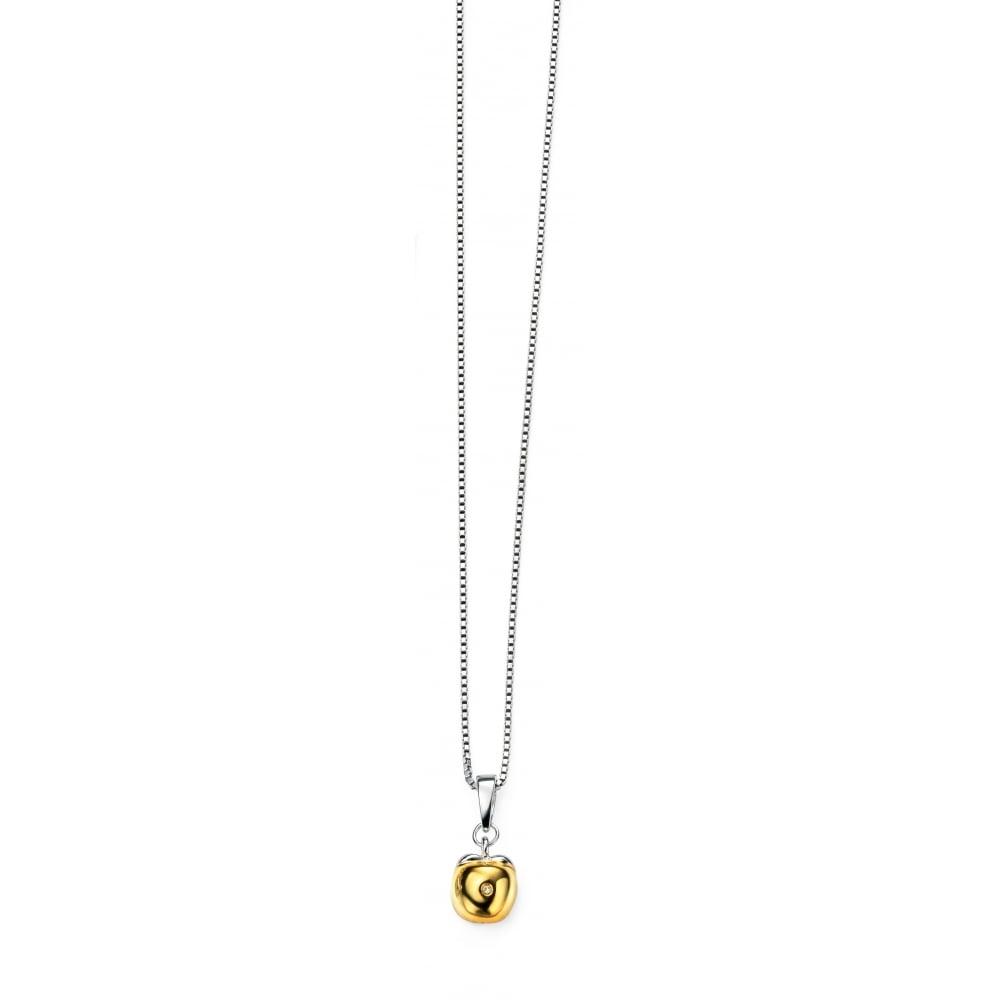 D for diamond gold plate apple pendant jewellery from faith d for diamond gold plate apple pendant aloadofball Images