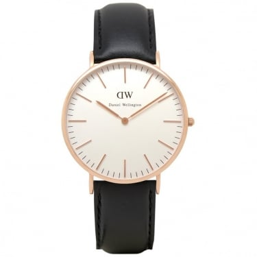Daniel Wellington Classci Sheffield Rose Gold 40mm Watch