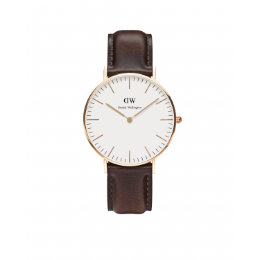 Daniel Wellington Classic Bristol Rose Gold 36mm Watch