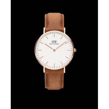 Daniel Wellington Classic Durham Rose Gold 36mm Watch