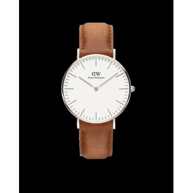 Daniel Wellington Classic Durham Silver 36mm Watch