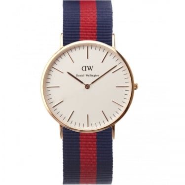 Daniel Wellington Classic Oxford Rose Gold 36mm Watch