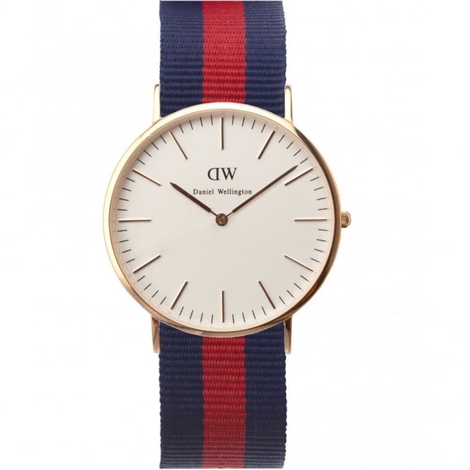 Daniel Wellington Classic Oxford Rose Gold 40mm Watch