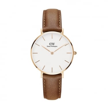 Daniel Wellington Classic Petite Durham Rose Gold 32mm Watch