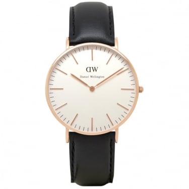 Daniel Wellington Classic Sheffield Rose Gold 36mm Watch