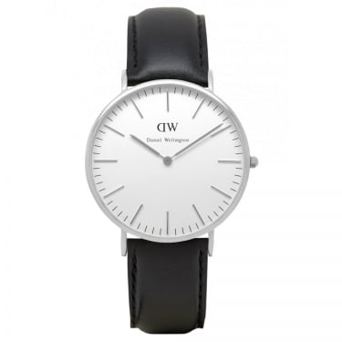 Daniel Wellington Classic Sheffield Silver40mm Watch