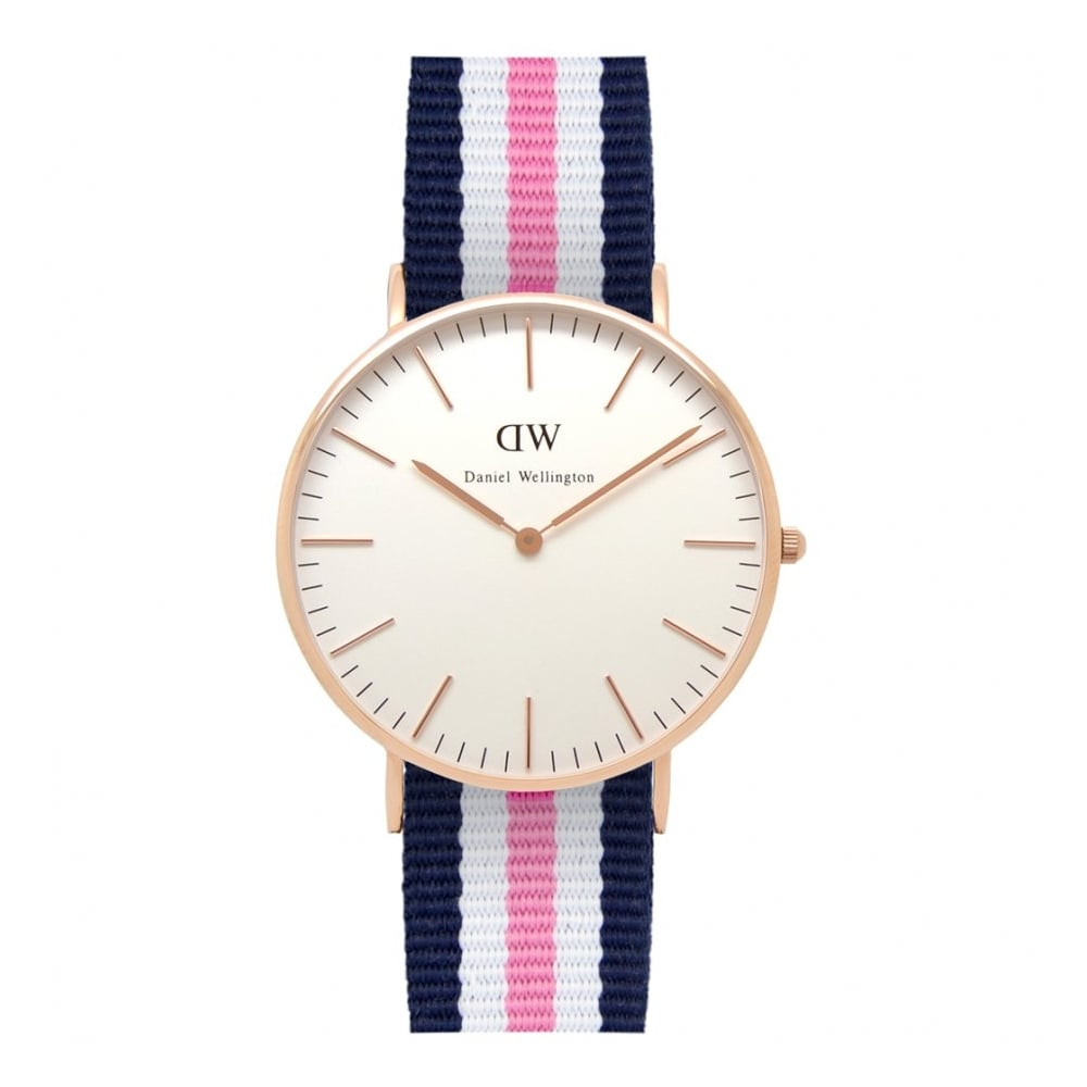 65e15339cdb1 Daniel Wellington Classic Southampton Rose Gold 36mm - Watches from ...
