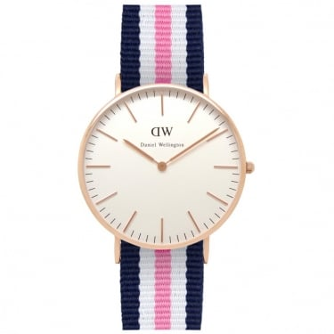 Daniel Wellington Classic Southampton Rose Gold 36mm Watch