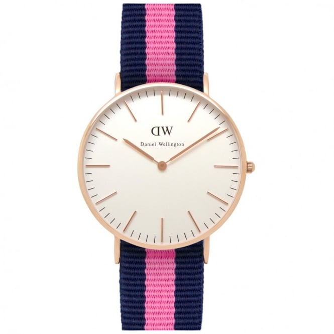 Daniel Wellington Classic Winchester Rose Gold 36mm Watch