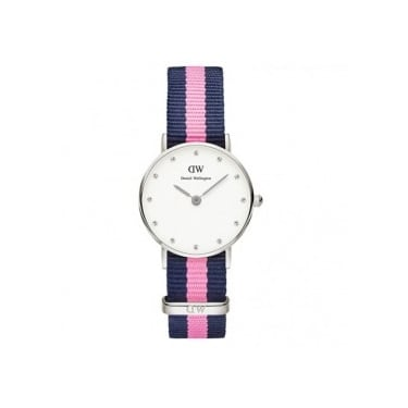 Daniel Wellington Classy Whinchester Silver 34mm Watch