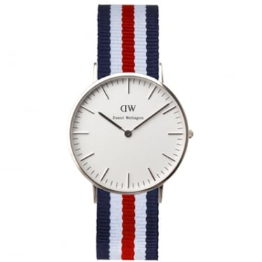 Daniel Wellington Watch Canterbury Silver