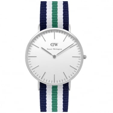 Daniel Wellington Watch Nottingham Silver