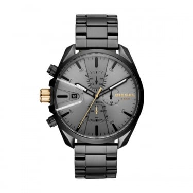 Diesel Gents Black Chrono Watch