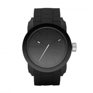 Diesel Gents Franchise Black Silicon Watch