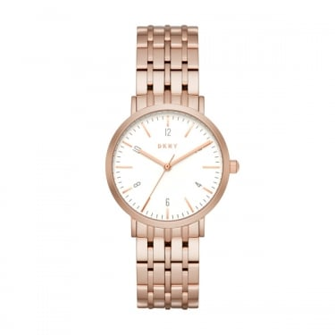 DKNY Ladies Minetta Rose Gold Watch