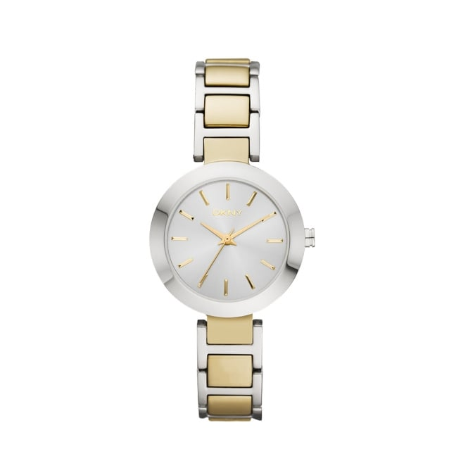 DKNY Stanhope Gold and Silver Watch