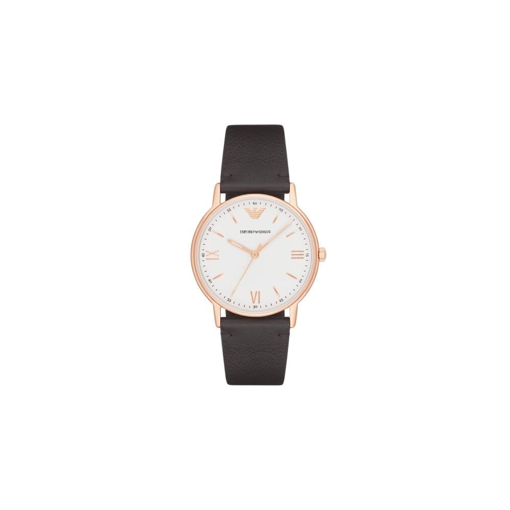 ea629aab85 Ladies Black Leather Strap Watch