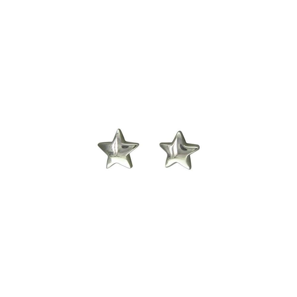 21c70c2d7 Faith Sterling Silver Sterling Silver Small Plain Star Stud Earring ...