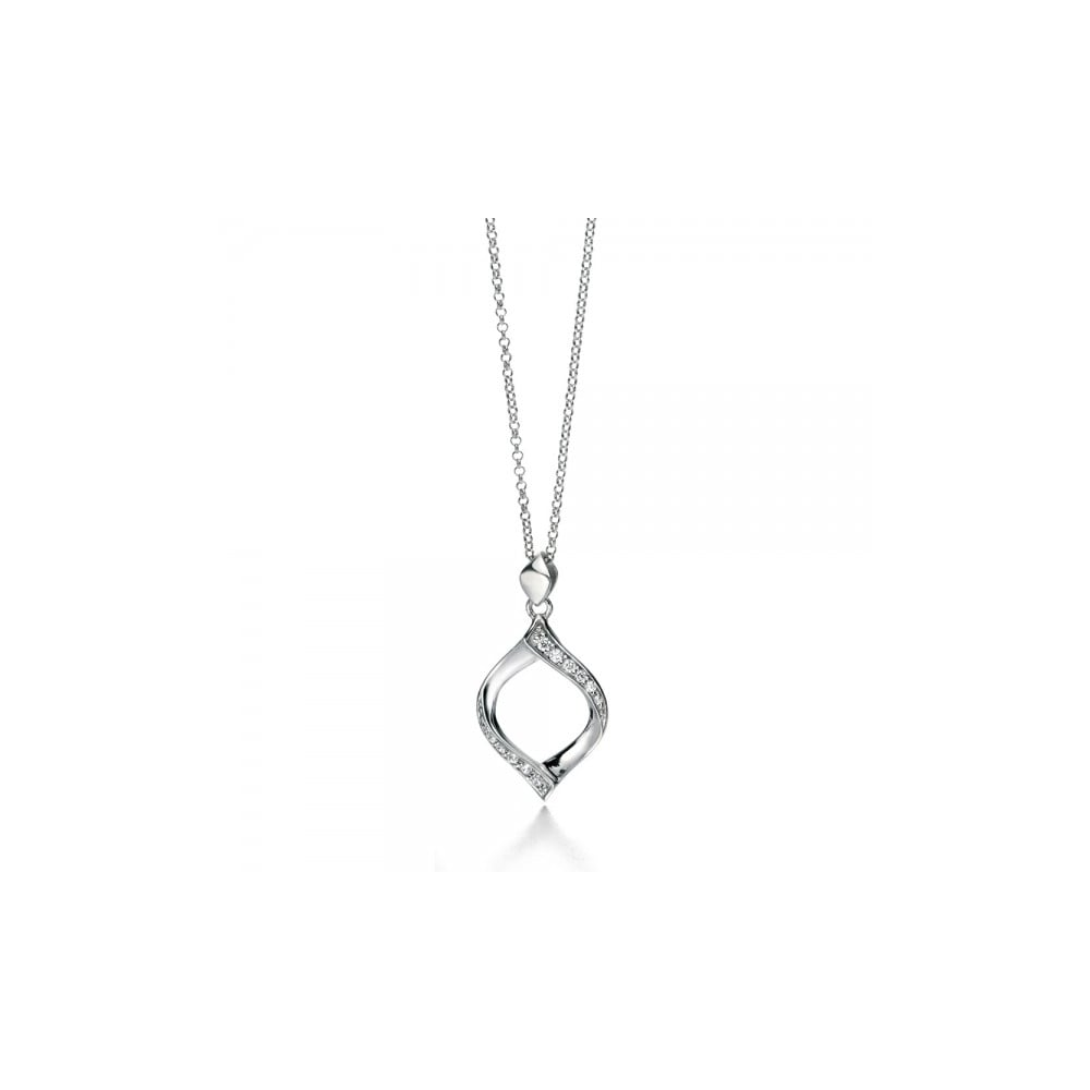 white gold diamonds eu pendant ribbon