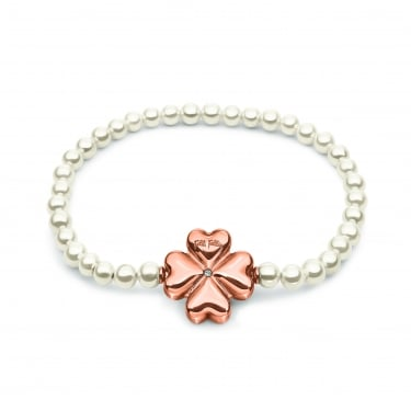 Folli Follie Grace Rose Pearl Bracelet