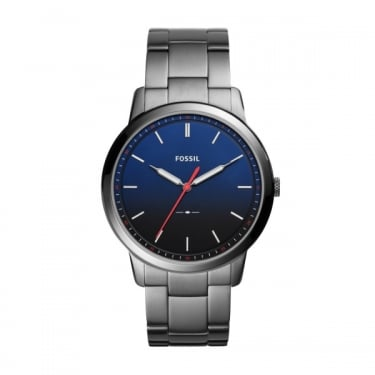 Fossil Gents Navy Grey The Minimalist Watch