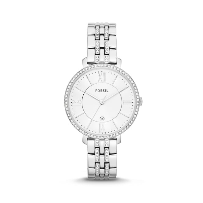 Fossil Ladies Jacqeline Silver Watch