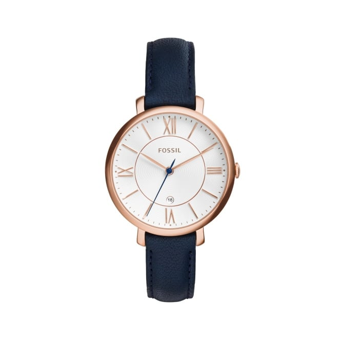 Fossil Ladies Jacqueline Leather Strap Watch