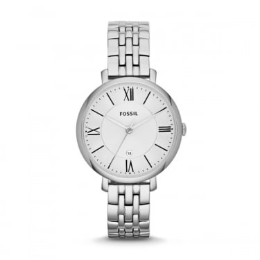 Fossil Ladies Jacqueline Silver Watch