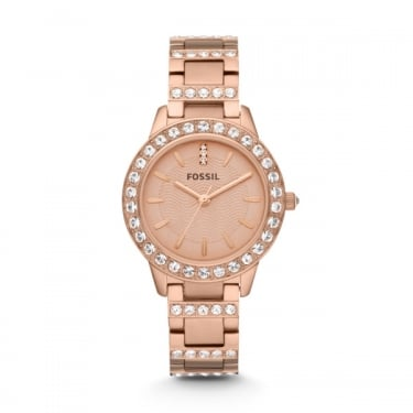 Fossil Ladies Rose Gold Jesse Watch