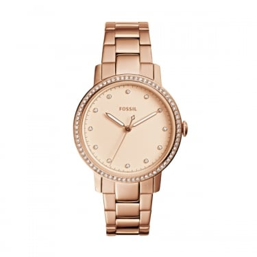Fossil Ladies Rose Gold Neely Watch