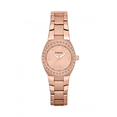 Fossil Ladies Rose Gold Serena Watch