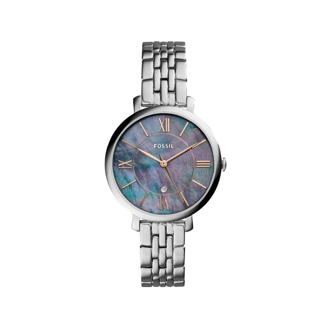 Fossil Ladies Silver Jaqueline Watch