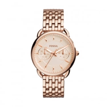 Fossil Ladies TailorRose Gold Watch