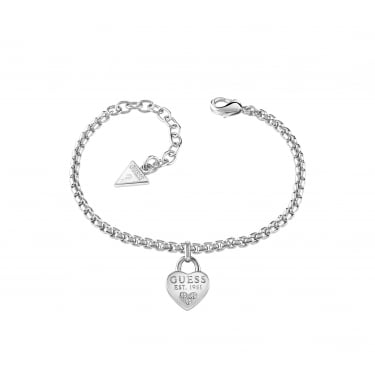 Guess All About Shine Silver Bracelet