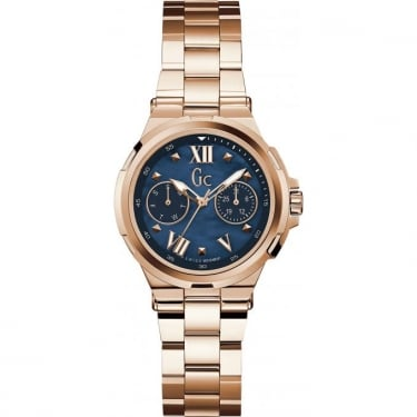 Guess Collection Gents Structura Rose Gold Watch