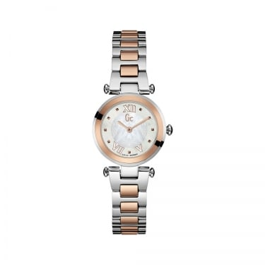 Guess Collection Ladychic Sport Anlog Two Tone Watch