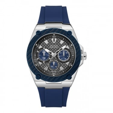 Guess Gents Navy Legacy Watch